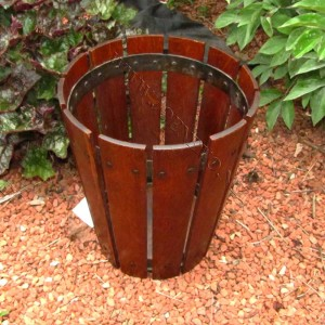 Antique  Superb  Gustav  Stickley  Waste  Basket  |  W2402
