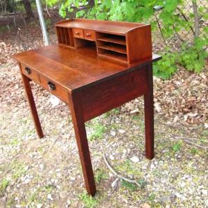 Superb Antique  Gustav Stickley  Desk     w3164