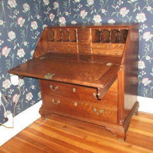 Antique Chippendale Berks County Drop Front Desk  |  F253