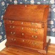 Antique Chippendale Berks County Drop Front Desk     F253