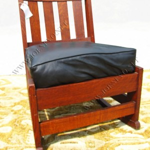 Antique  Limbert  Rare Form Rocker  |  W2083