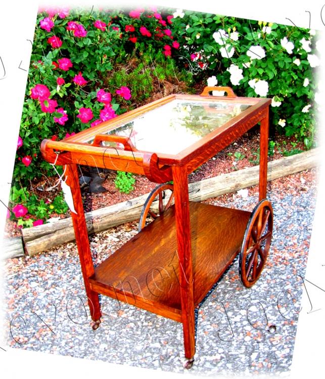 Stickley Bros Tea Cart   |  W2292