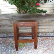 Antique Stickley Bros  Small Table Tabouret     W2874