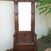 Quarter Oak  Hall Seat  |  F273