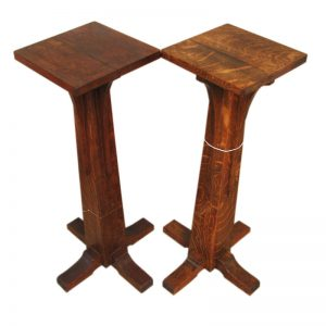 L&jg Stickley  Tall Stands  |  F292