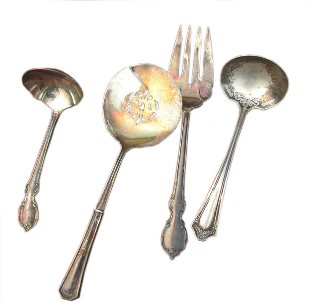 Set Of Early  Spoons     F6354