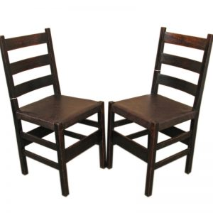 Gustav Stickley  Early Side Chairs     F8211