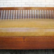 Gustav Stickley  Spindled Settle  |  F9601