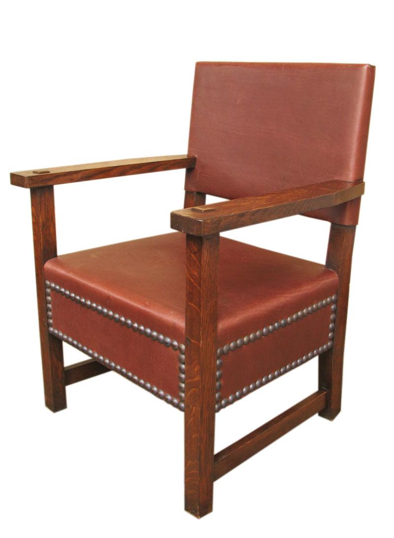 L jg stickley large armchair f joenevo