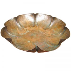 Arts & Crafts  Copper Dish  |  F9829