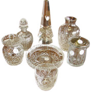 Cut Glass  7 Piece Collection  |  F9888