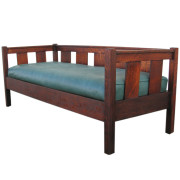Gustav Stickley Even-Arm Settle FF607_1