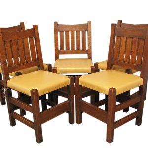 Arts & Crafts  V-back Chairs     FF629