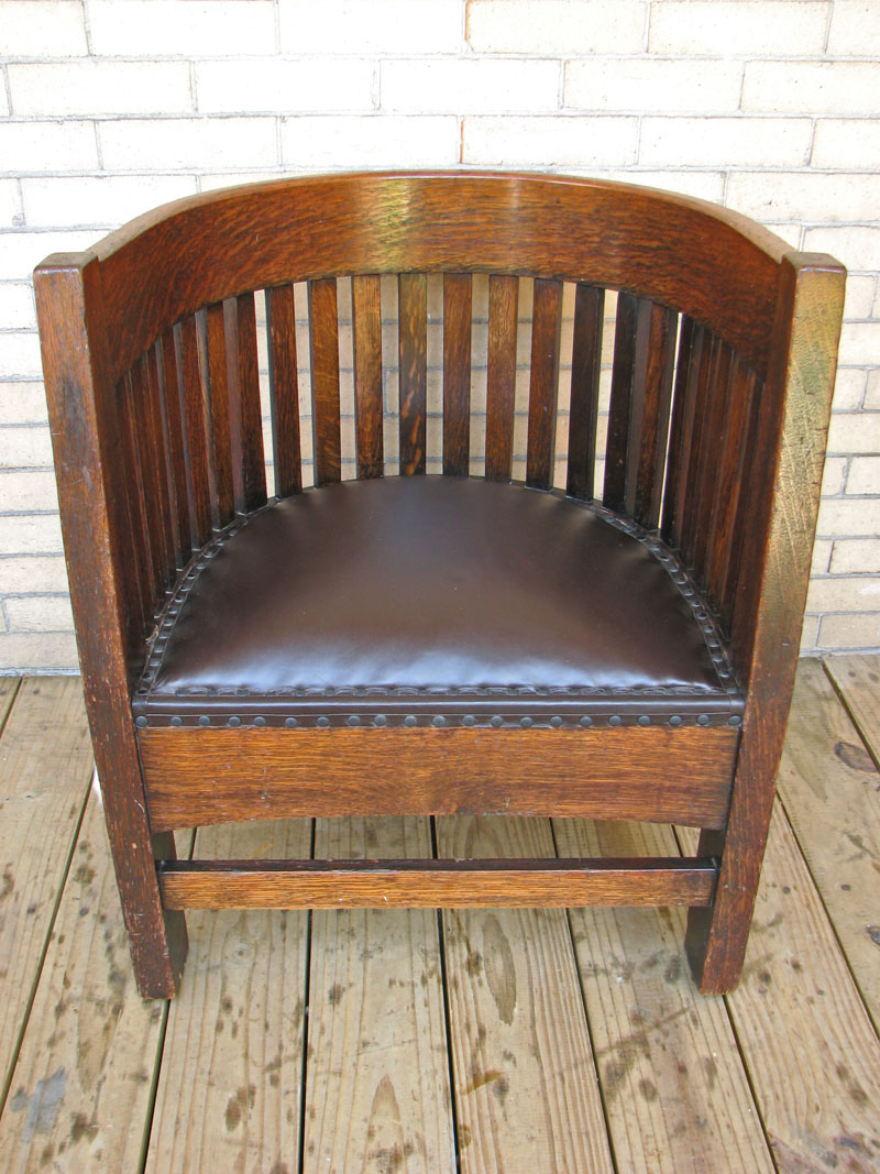 Antique barrel chair - Home Shop Antique Furniture Chairs Plail Brothers Barrel Back Chair F134