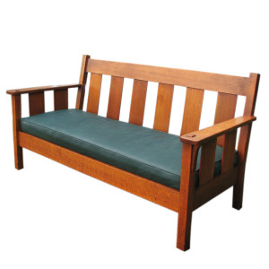 Stickley Brothers Drop Arm Settle F6653