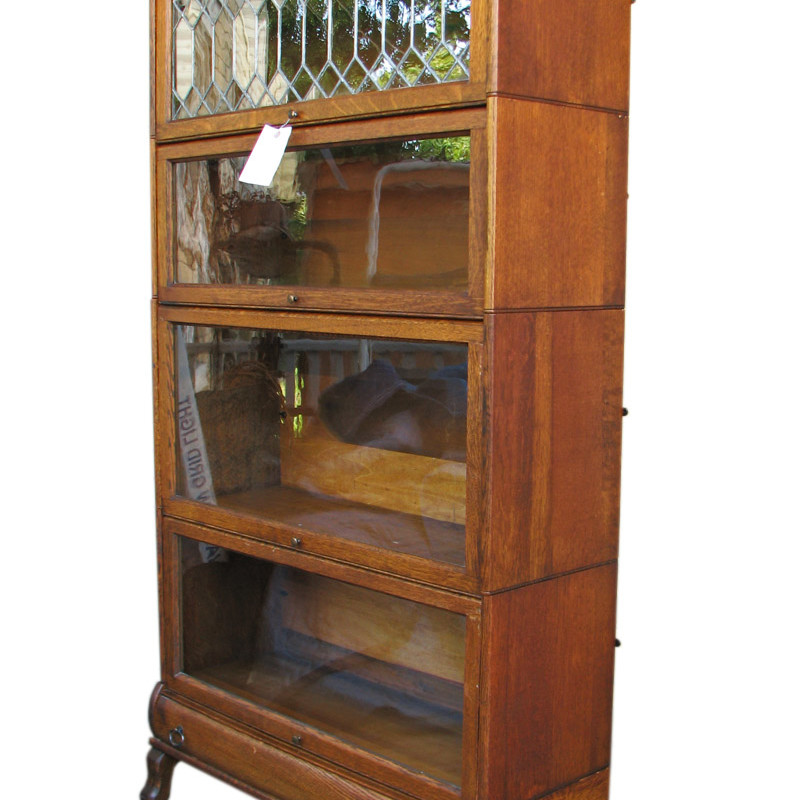 home shop antique furniture bookcases lundstrom barrister bookcase ff414