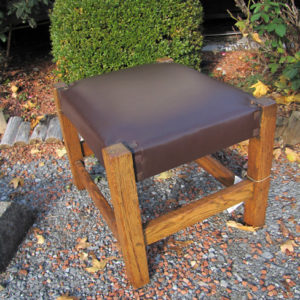 Antique Good Gustav Stickley Foot Stool |  w3927