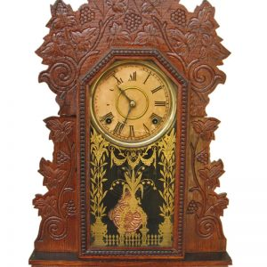 Gilbert Clock Co. Gingerbread Clock F181