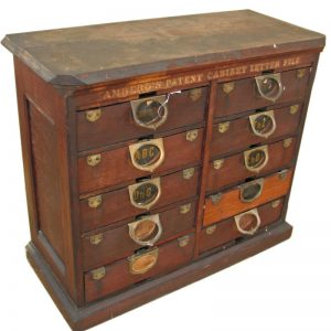 Rare Amberg  Filing Cabinet F44