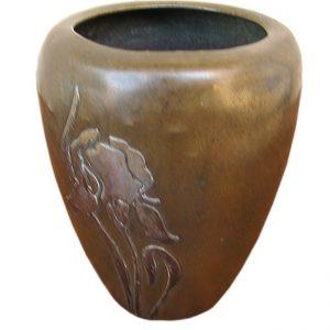 Heintz Bronze Vase F7149