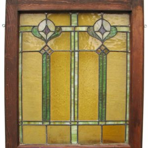 Arts & Crafts Stained Glass F9798