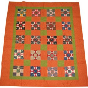 Turn Of The Century  Pieced Quilt F9974