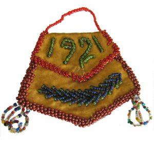 Native American Beaded Bag I941