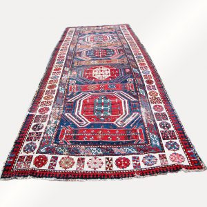 Superb Antique Caucasian Rug rr1946
