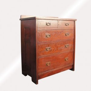EARLY and RARE  good GUSTAV STICKLEY  Chest of Drawer  w1421