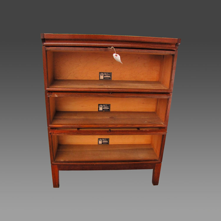 home shop antique furniture bookcases superb antique the viking arts and crafts barrister bookcase w2099