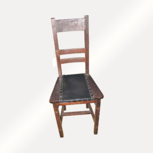 Antique Narrow Arts And Crafts Hall Chair w2704
