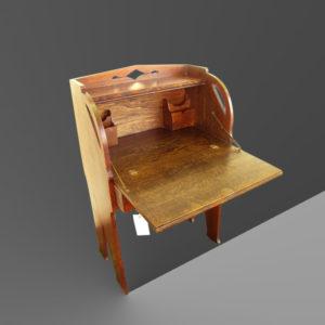 Antique Arts and Crafts Drop Front Desk w2946