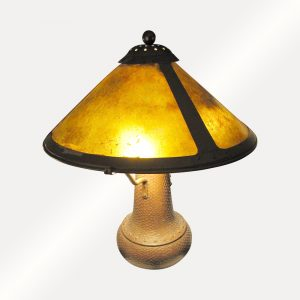 Vintage Beautiful Mica Table Lamp w2990
