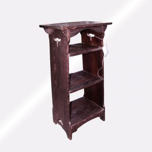Great Antique Mission Arts And Crafts Magazine Stand | w4065‎